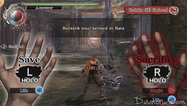 [Test] Soul Sacrifice sur PS Vita