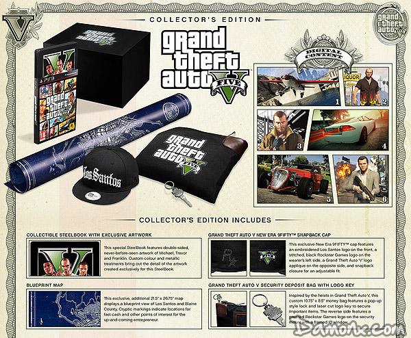 [Pré-commande] GTA V Edition Collector PS3