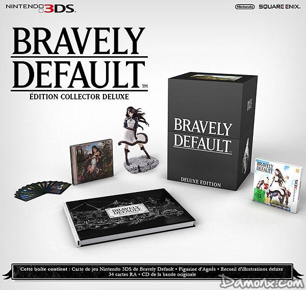 [Pré-co] Bravely Default – Edition Collector Deluxe sur 3DS