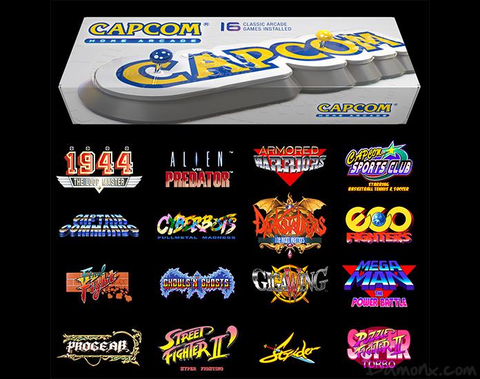 [Retrogaming] Capcom Annonce Le Capcom Home Arcade